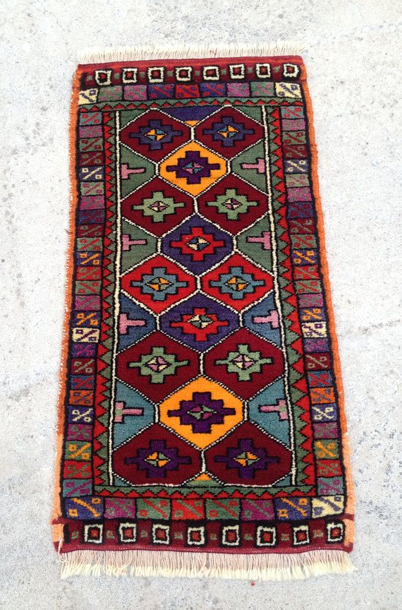 Christmas Decor Rug Rug Small Rug Small Turkish Rug