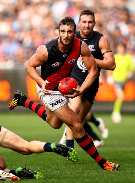 AFL: Essendon defeat Carlton 109-79 - Jobe Watson  http;//footyboys.com