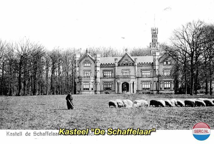 Kasteel De Schaffelaar Barneveld (jaartal: 1920 tot 1930) - Foto's SERC