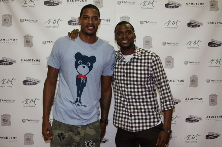 Trevor Ariza and Keyon Dooling at The BIG Assist in Los Angeles, California