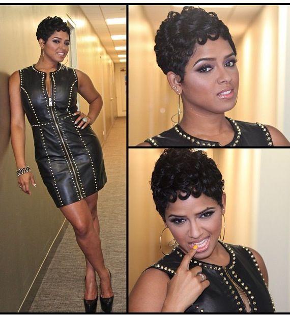 Women who can rock short hair >