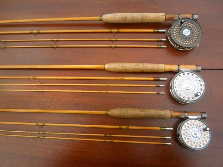 17 best images about bamboo rods on pinterest spinning for Old fishing rods