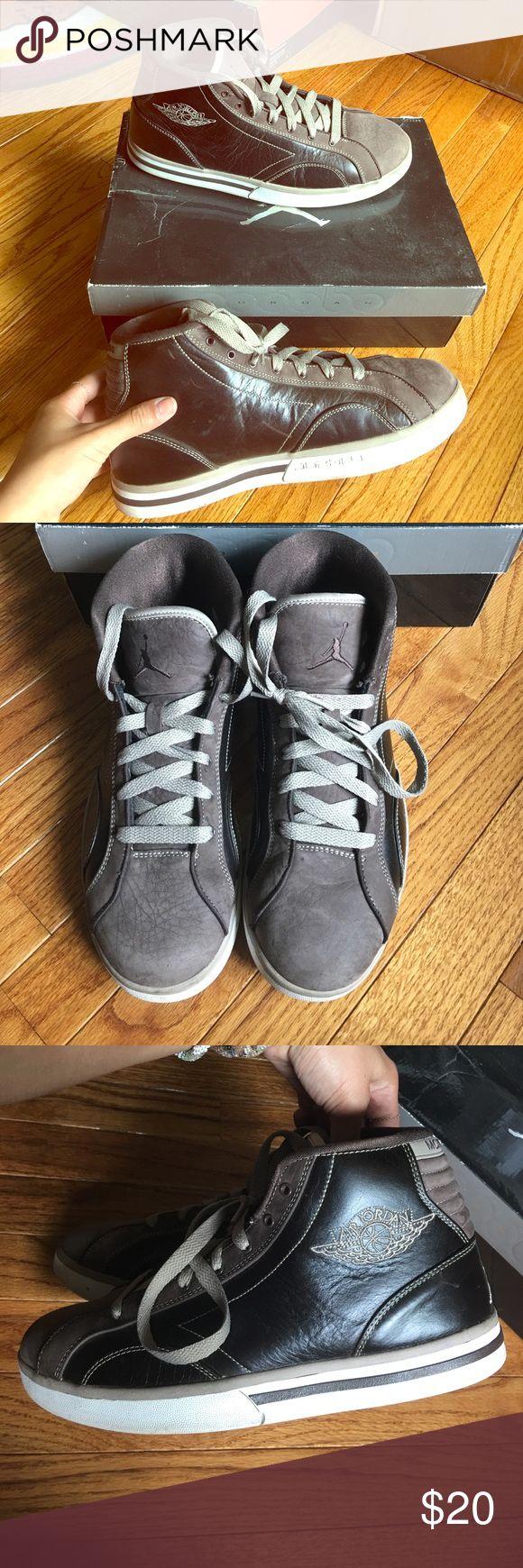 Jordan phly Good condition. Baroque brown/chino white Jordan Shoes Sneakers