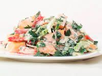 Prawn and melon salad recipe - 9kitchen
