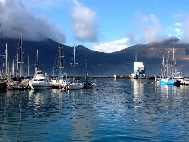 Hout Bay Harbour, Cape Town, South Africa.