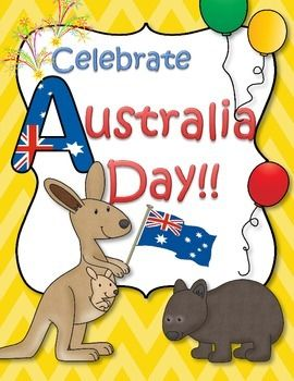 This is a set of printables to complement/supplement your units about Australia for young learners. Perfect for an introduction to Australia for children in the US, and to celebrate Australia Day (January 26th) for preschoolers and Pre-K in Australia. 52 pages