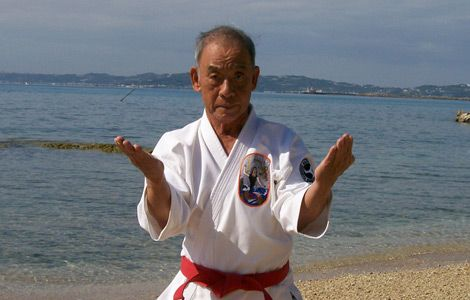Grand Master Angi Uezu -  Okinawa Isshinryu Karate Kobudo Association