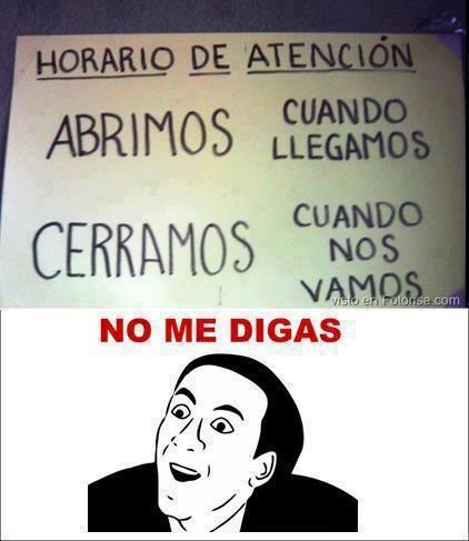 Resultado de imagen para meme en español no me digas