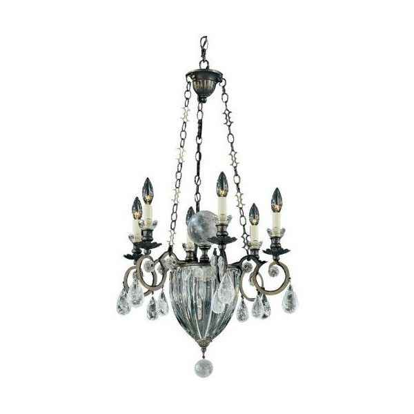 Schonbek Lighting Vendome Chandelier ($1,995) ❤ liked on Polyvore featuring home, lighting, ceiling lights, rock lamp, orb lamp, chain lighting, spherical chandelier and hanging sphere lights