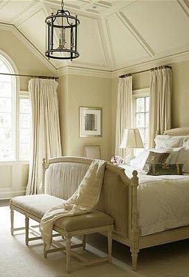 So soothingGuest Room, Romantic Bedrooms, French Bedrooms, Ceilings Details, Bedrooms Design, Master Bedrooms, Neutral Bedrooms, Bedrooms Decor, Beautiful Bedrooms