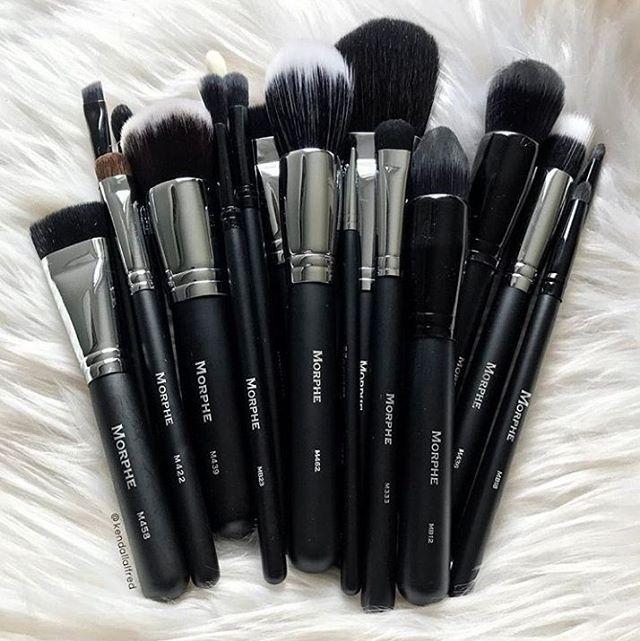 Empieza a armar tu propio kit de brochas o a agrandar el que ya tienes con esta variedad que te ofrece #Morphe #Brochas #MakeUp