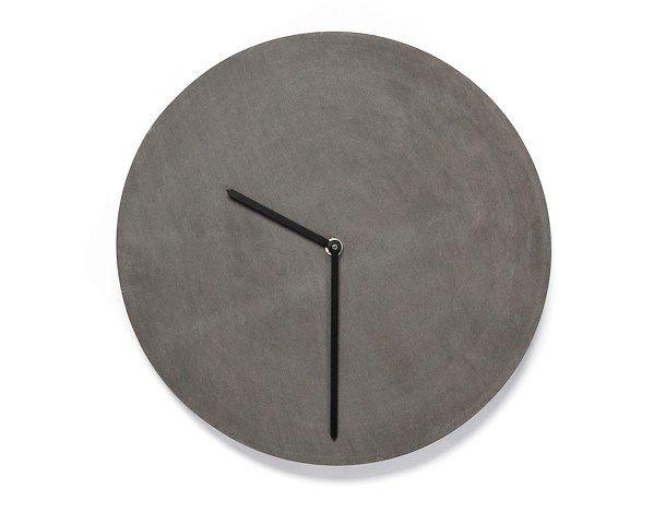 Buy online Tempus 32 By urbi et orbi, wall-mounted concrete clock