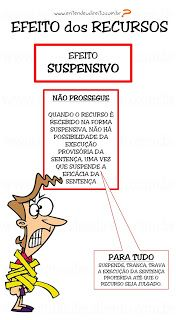 ENTENDEU DIREITO OU QUER QUE DESENHE ???: RECURSOS NO PROCESSO PENAL - EFEITOS