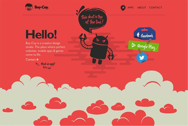 Four Interactive and Inspiring Microsites