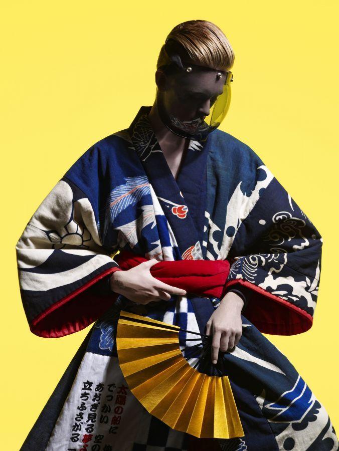 Vogue Hommes Japan July 2008 / Photo: Hedi Slimane / Style: Nicola Formichetti