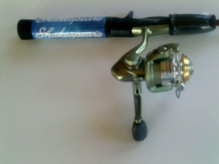 SHAKESPEARE Rod & Reel COMBO / 5.6 ft Rod/ 8 BB.Fishing Reel