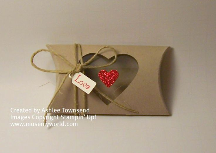 heart pillow box