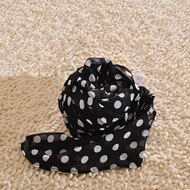 Sweet Wave Point Chiffon Infinity Scarf for only $24.99 ,cheap Fashion Scarves - Clothing & Apparel online shopping,Sweet Wave Point Chiffon Infinity Scarf