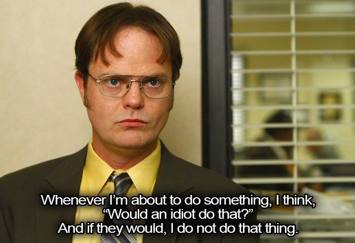Dwight Quotes From The Office We Wish We Could Get Away With Irl Life Style Office Quotes Office Quotes Funny Dwight Quotes See authoritative translations of you uncultured swine in spanish with example sentences and audio pronunciations. pinterest