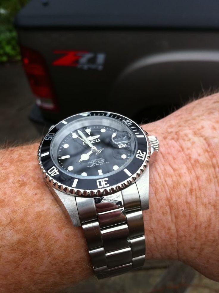 Invicta 8926 Pro Diver under the microscope (50 pics ...