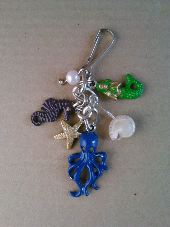 Under the Sea Charm Bunch by AbandonedWarehouse on Etsy