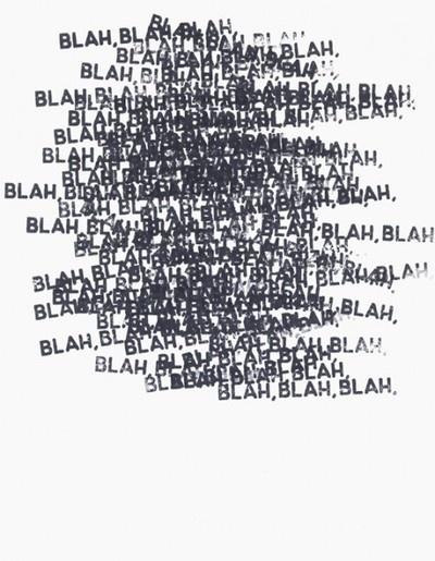 visual-poetry: by mel bochner