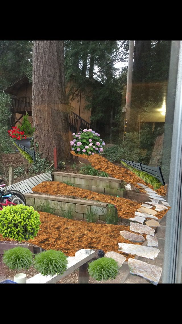 34 best landscape designs images on pinterest landscape cheap app iscape free to see how it might look with cedar mulch fences malvernweather Images