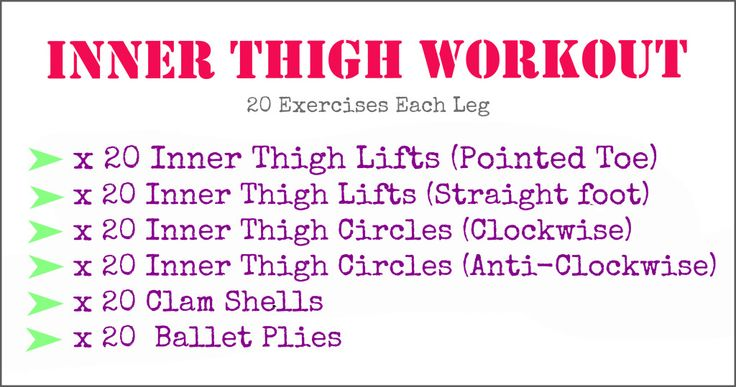 Beat the inner thigh wobble with this quick workout! http://fit-radiance.com/inner-thigh-workout/