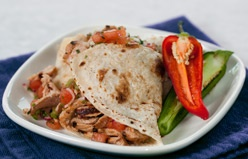 Here is just one of the many recipes to use with your uncooked tortillas from Tortilla Land!