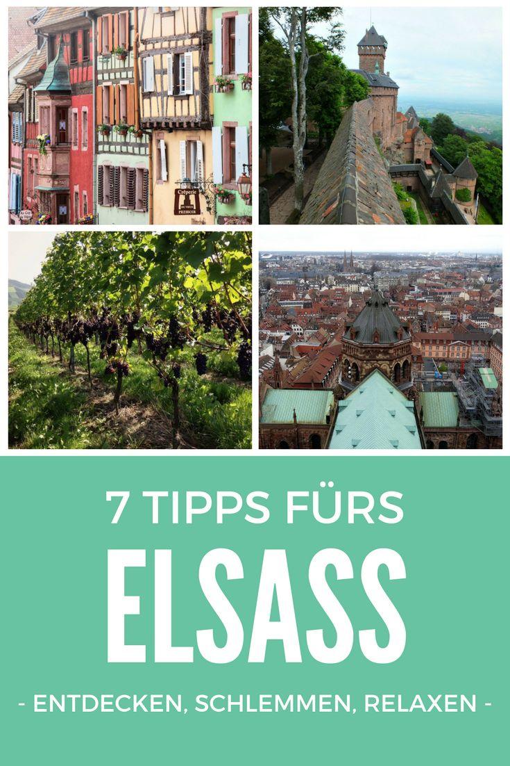 Das Elsass ist für mich nur einen Katzensprung entfernt und die nächsten Ausflüge zu den französischen Nachbarn sind schon geplant. Deshalb habe ich meine lieben Reiseblogger-Kollegen nach ihren (Geheim-) Tipps für das schöne Elsass gefragt. Herausgekommen sind 7 Tipps fürs Elsass – ideal für die nächsten Ausflüge und Kurztrips.