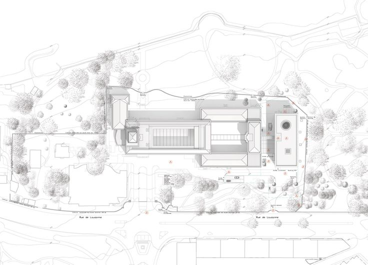 Architecture site plan drawing site plan drawing for Plan rendering ideas