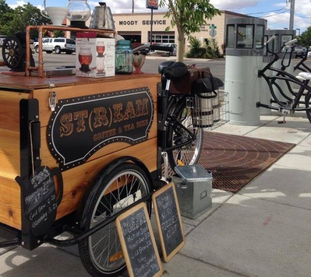 Icicle Tricycles - Stream Tea and Coffee Bike