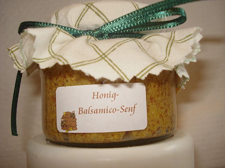 Carstens Balsamico - Honig - Senf, ein schönes Rezept aus der Kategorie Haltbarmachen. Bewertungen: 18. Durchschnitt: Ø 4,5.