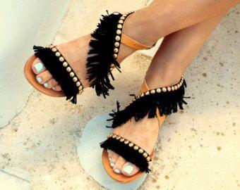 Sandalias de strass azul marino de lujo novia sandalias