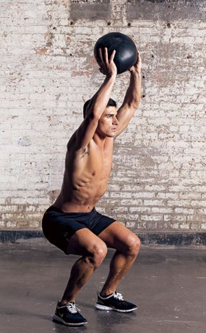Build Muscle Fast with Medicine Ball Exercises  Fuel Fast Growth  See big gains in strength, size, and speed with this 15-minute medicine ball workout