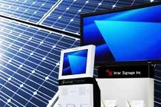 (株)吉田組/LED、ソーラーパネル、遮熱塗料、大型ディスプレイ、キオスク端末、電子ポップなど