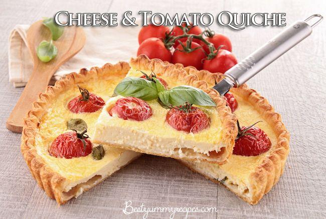 Cheese & Tomato Quiche – Food Recipes