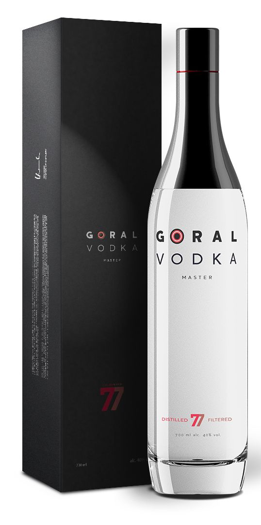 Goral Vodka Master - The art of the package, the package as art