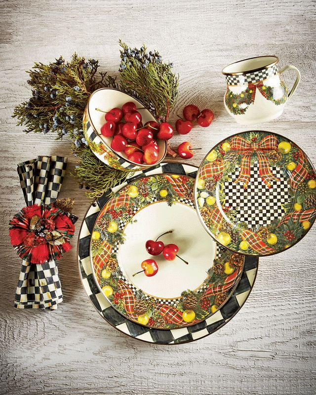 elegant beautiful christmas dinnerware sets with christmas dinnerware & Christmas Dinnerware. Melange Piece Santa Comes Home Christmas Coupe ...