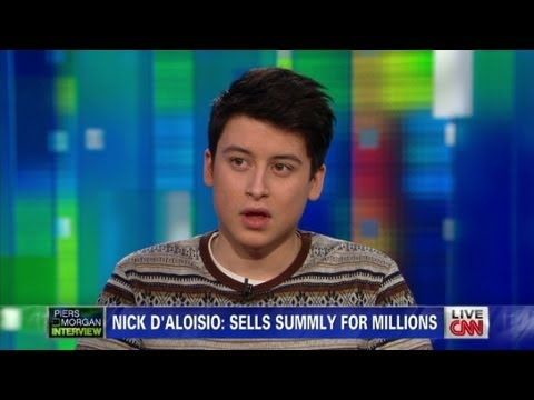 17-year-old sells app to Yahoo! for $30 million - YouTube