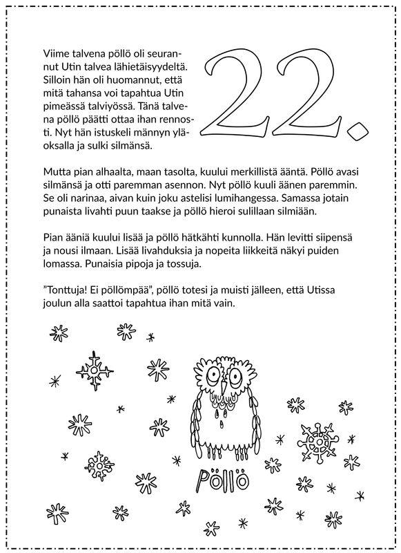 Joulukalenteri 2015