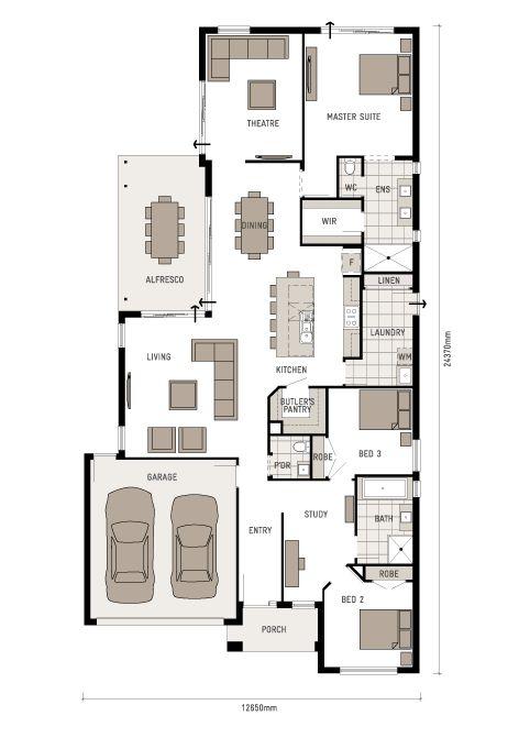 21 best Project: Home - Floorplans images on Pinterest   House ...