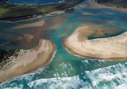 Goolwa nestles at the mouth of the Murray River, via smh.com.au