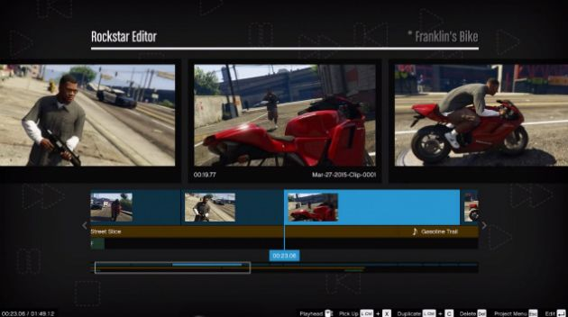 The 'Grand Theft Auto V' Rockstar Editor is exclusive to PC