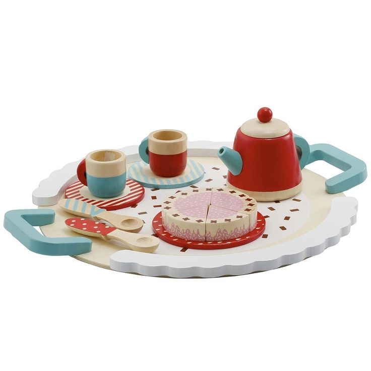 wooden Play Tea Set role Play