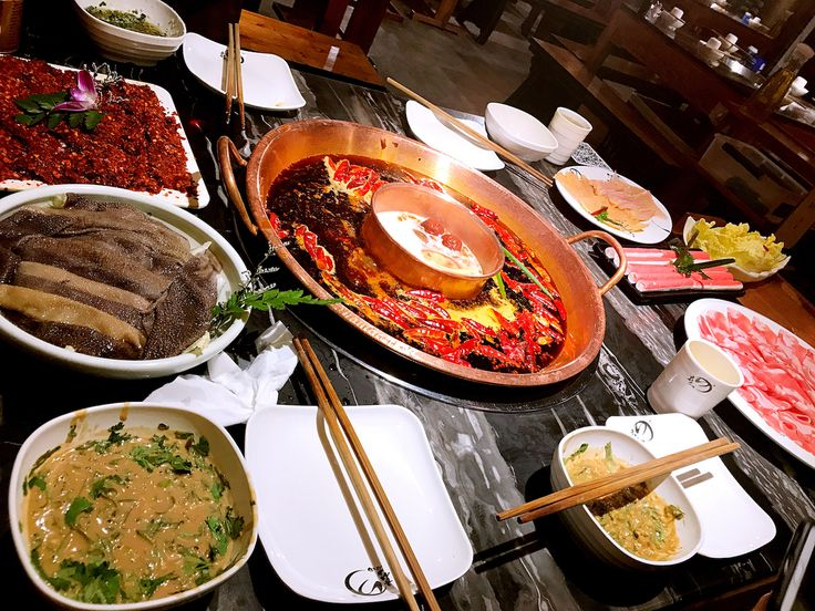 Traditional Chinese Hot Pot.