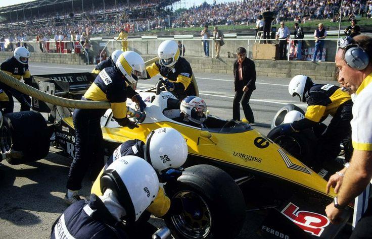 Alain Prost, Renault RE40 1983