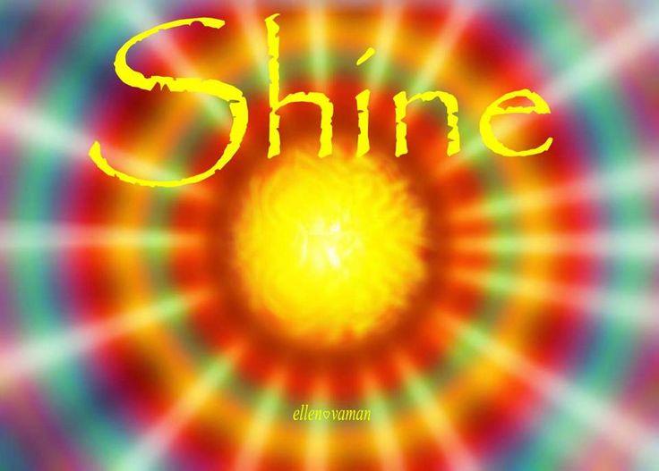 You are the Light of the World. Shine!!! (art;e11en❤vaman)