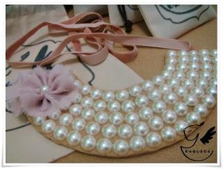 Half Pearl Necklace