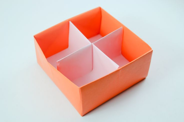 Free How to Fold a Divider for an Origami Box project